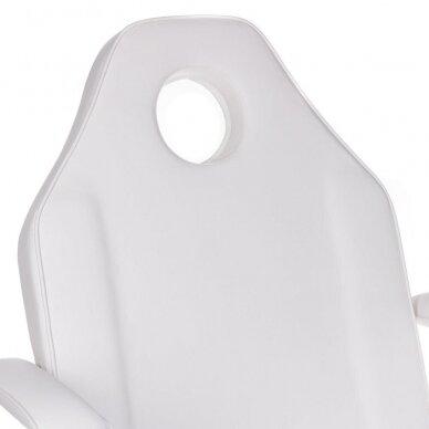 Kosmetologinis krėslas BW-262A, baltos sp. 4