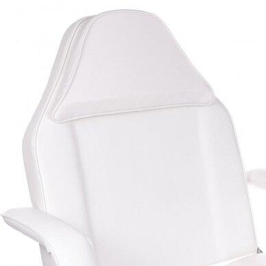 Kosmetologinis/pedikiūro krėslas BW-263, baltos sp. 3
