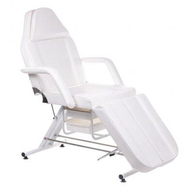 Kosmetologinis/pedikiūro krėslas BW-263, baltos sp.