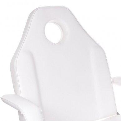Kosmetologinis/pedikiūro krėslas BW-263, baltos sp. 4