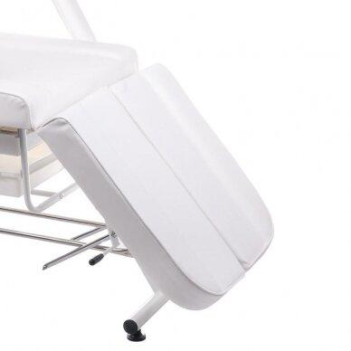 Kosmetologinis/pedikiūro krėslas BW-263, baltos sp. 5