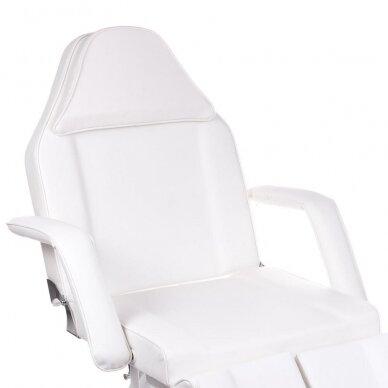 Kosmetologinis/pedikiūro krėslas BW-263, baltos sp. 2