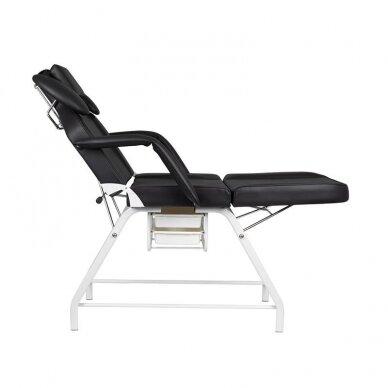 Kosmetologinis krėslas, juodos sp. 3