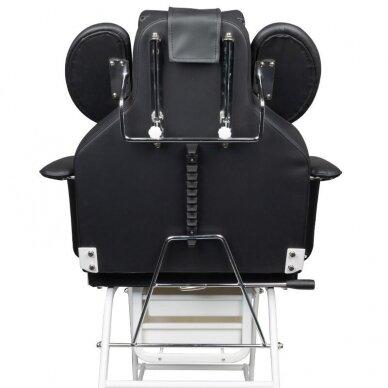 Kosmetologinis krėslas, juodos sp. 5