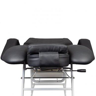Kosmetologinis krėslas, juodos sp. 6
