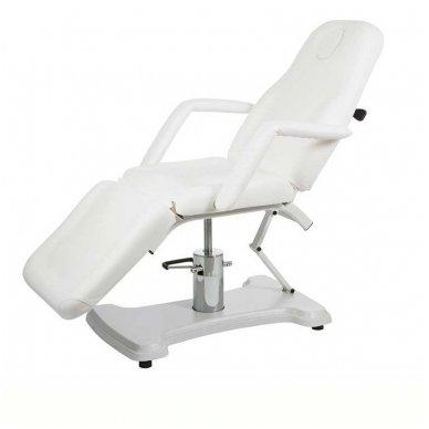 Kosmetologinis krėslas - lova Weelko Cora, baltos sp.