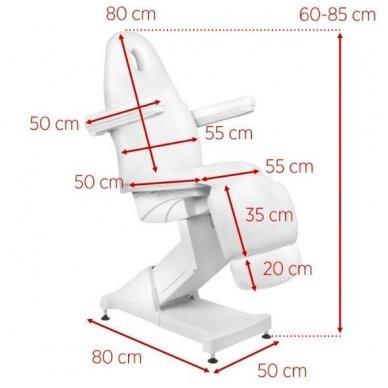 Kosmetologinis krėslas su 3 varikliais. 8