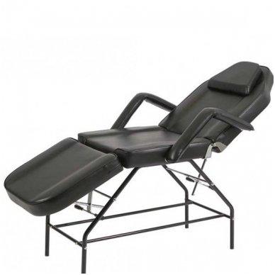 Kosmetologinis mechaninis krėslas - lova Weelko Mylo, juodos sp.