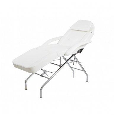 Kosmetologinis mechaninis krėslas - lova Weelko Vomex, baltos sp.