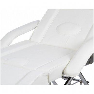 Kosmetologinis mechaninis krėslas - lova Weelko Vomex, baltos sp. 2