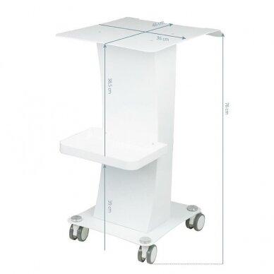 Kosmetologinis vežimėlis prietaisams 091 6