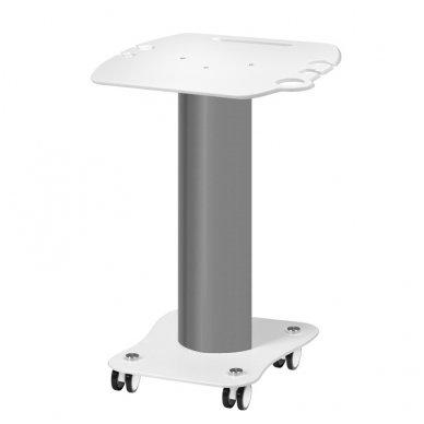 Kosmetologinis vežimėlis - staliukas įrangai, baltos sp.