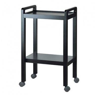 Kosmetologinis vežimėlis Weelko Basic, juodos sp.