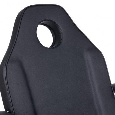 Kosmetologinis/pedikiūro krėslas BW-263, juodos sp. 8