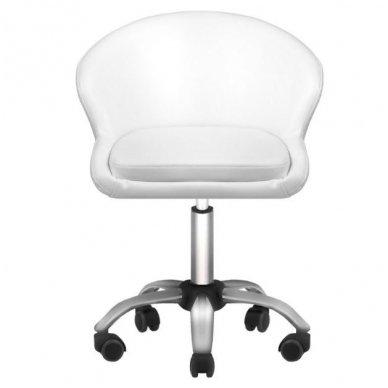Kosmetologo kėdė LADY WHITE, baltos sp. 3