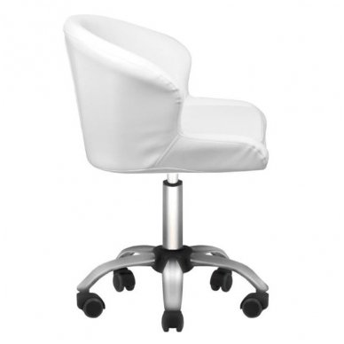 Kosmetologo kėdė LADY WHITE, baltos sp. 2