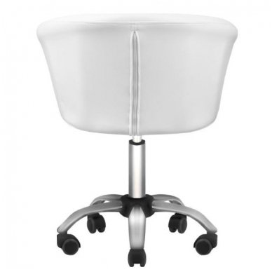 Kosmetologo kėdė LADY WHITE, baltos sp. 4