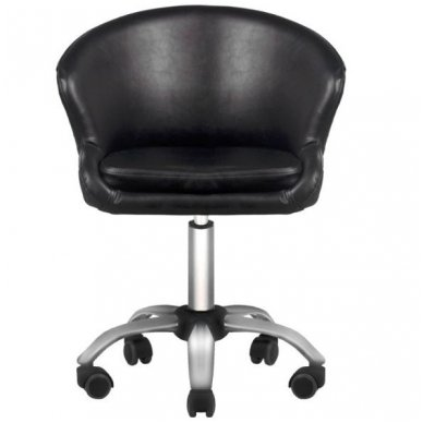 Salono kėdė LADY BLACK, juodos sp. 3