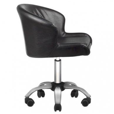 Salono kėdė LADY BLACK, juodos sp. 2