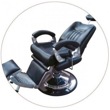 Krėslas Barber 8771-1, juodos sp. 2