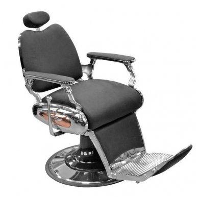 Krėslas Barber 8777, juodos sp.