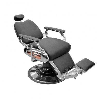 Krėslas Barber 8777, juodos sp. 2