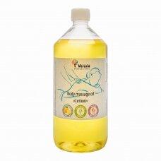 Kūno masažo aliejus Citrina, 1000 ml.