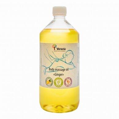 Kūno masažo aliejus Imbieras 1000 ml. 2