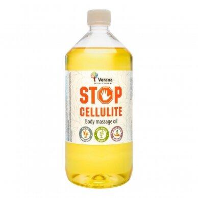 Kūno masažo aliejus STOP - CELLULITE, 1000ml