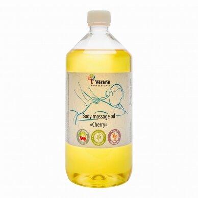 Kūno masažo aliejus Vyšnia, 1000 ml.