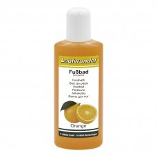 "Laufwunder Footbath ""Orange""– drėkinamoji, gaivinamoji, kojų vonelė su apelsinmedžio ekstraktu, 200 ml"