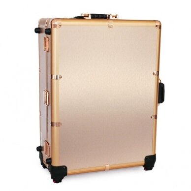 Lagaminas makiažo priemonėms su apšvietimu Osom Professional GOLD 4