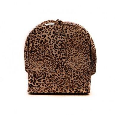 Lagaminas Osom Professional, leopardinis, 26x22–24x30 cm 3