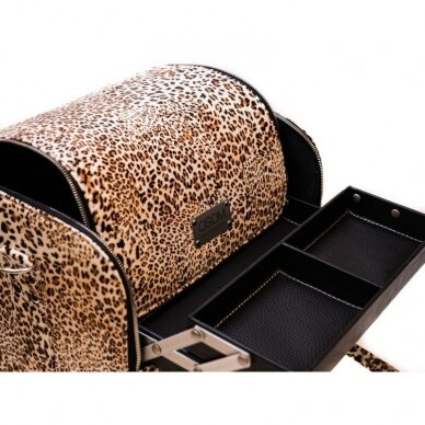 Lagaminas Osom Professional, leopardinis, 26x22–24x30 cm 5