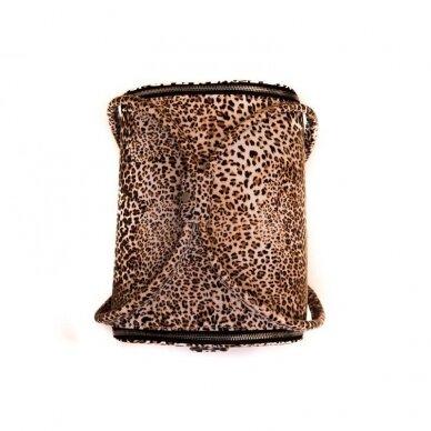 Lagaminas Osom Professional, leopardinis, 26x22–24x30 cm 2