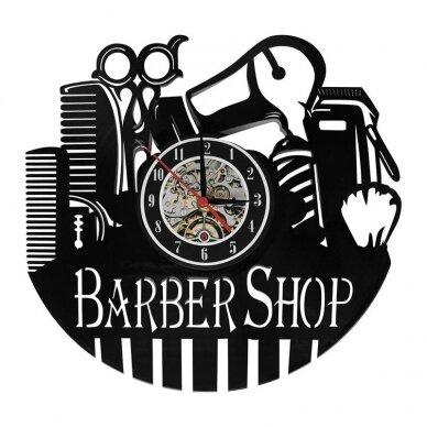 Laikrodis - dekoracija BARBER SHOP