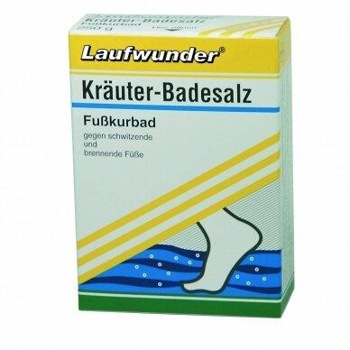 Laufwunder Herbal bath, vonios druska – su žolelių ekstraktais, 250g
