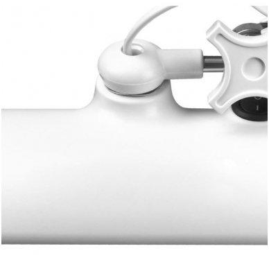 LED lempa ELEGANTE 801-S ZE su stovu, baltos sp. 3