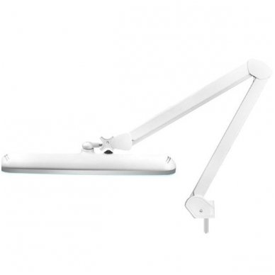 LED lempa ELEGANTE 801-S ZE su stovu, baltos sp. 7