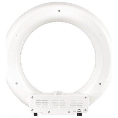 """Led lempa RING 12"""" 35W, fluoriscentinė balta su štatyvu 2"""