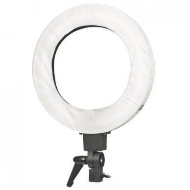 "Led lempa RING 12"" 35W su stovu 4"