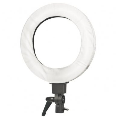 "Led lempa RING 18"" 55W su stovu 9"