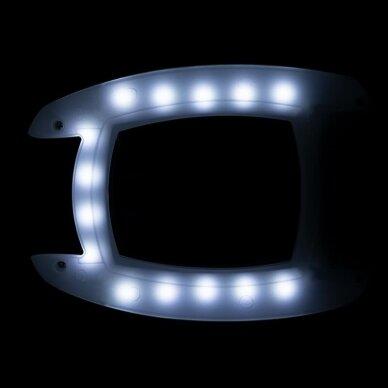 LED lempa su didinamuiju stiklu HIGH TECH, montuojama 2