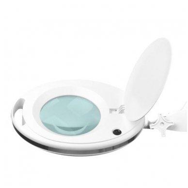LED lempa su lupa ir stovu ELEGANTE 6027 60 LED SMD 5D, baltos sp. 3