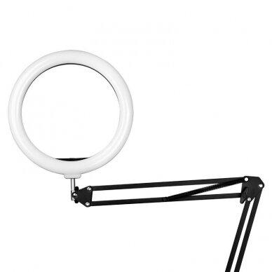 """LED montuojama žiedinė lempa RING LIGHT 10"""", 8W 4"""