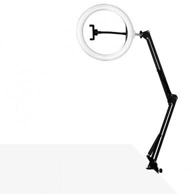"""LED montuojama žiedinė lempa RING LIGHT 10"""", 8W 2"""