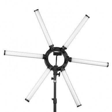 LED vizažo, blakstienų ir antakių meistro lempa POLLUKS VI 3