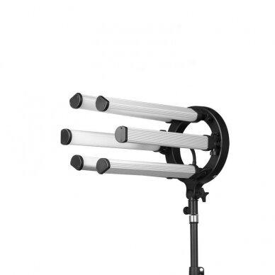 LED vizažo, blakstienų ir antakių meistro lempa POLLUKS VI 6