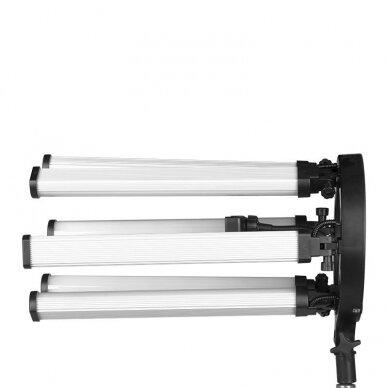 LED vizažo, blakstienų ir antakių meistro lempa POLLUKS VI 7