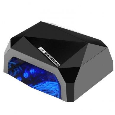 Lempa nagams DIAMOND 2 in 1 UV LED+CCFL 36W, juodos sp.